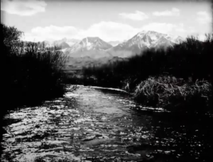 Owens valley River scene from the filmPaya: The Water Story of the Paiute